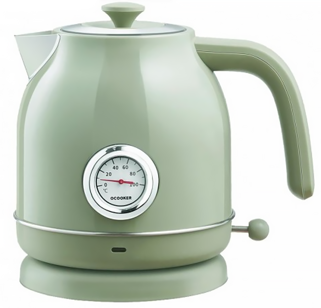 Xiaomi Qcooker Retro Electric Kettle Olive Green КАРКАМ