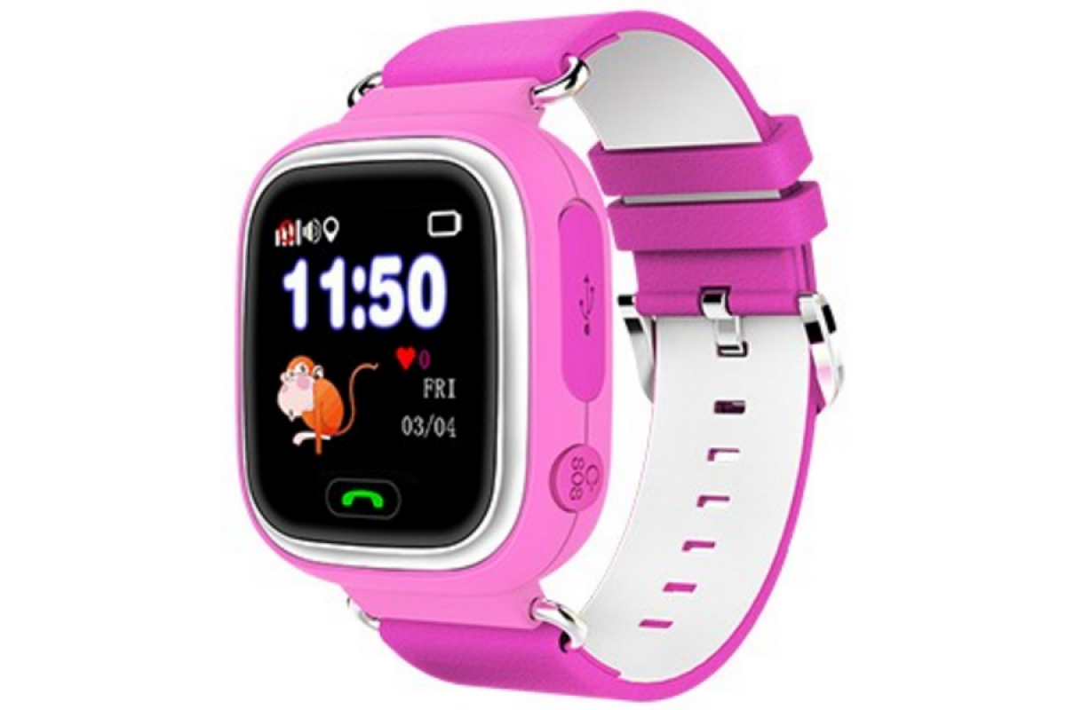 Smart Baby Watch КАРКАМ Q80 розовые от КАРКАМ