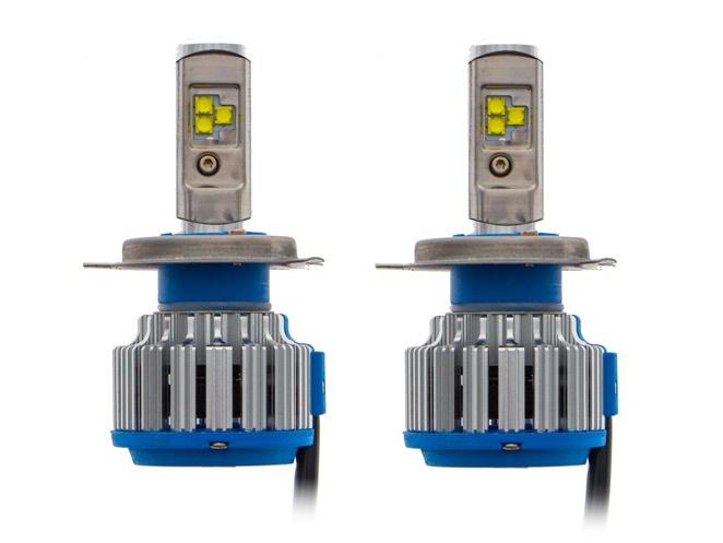 Купить Комплект автомобильных светодиодных ламп CARCAM Н4 40 Вт/2шт, КАРКАМ
