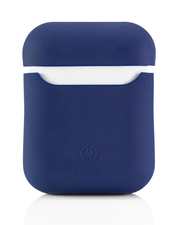 Чехол Airpods Silicon Case - темно-синий