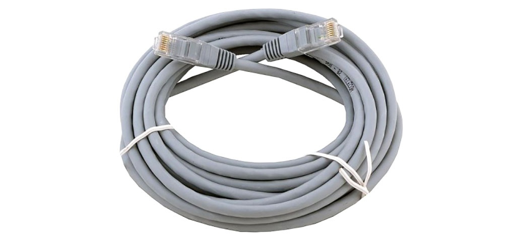 Купить Патч-корд Technolink UTP4 cat.5e, 3.0м, литой коннектор, серый, КАРКАМ