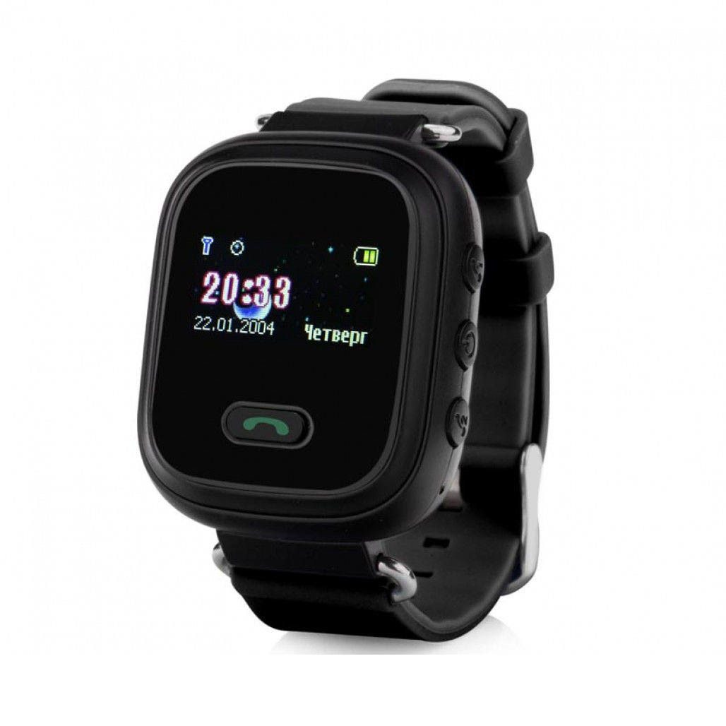 Smart Baby Watch КАРКАМ Q60 черные smart baby watch q60s детские часы с gps голубые