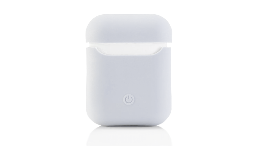Чехол Airpods Silicon Case - белый