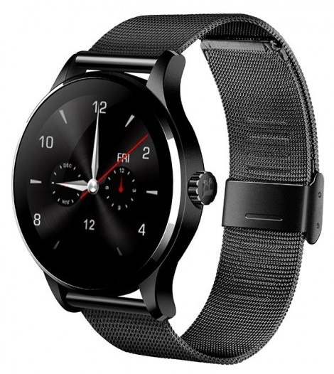 CARCAM SMART WATCH K88H BLACK - Черный металл фото