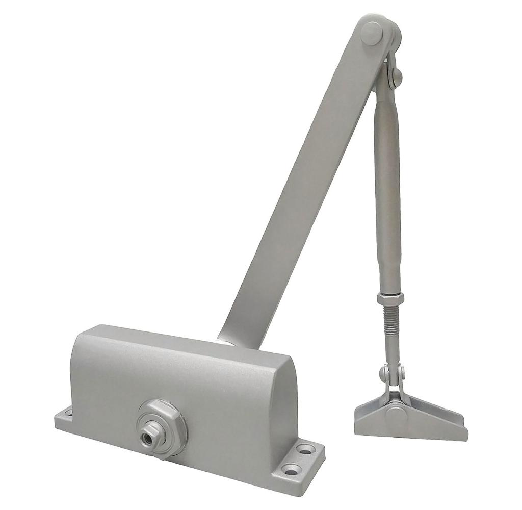 Доводчик ALDC-65S для дверей до 65кг - серебро фото