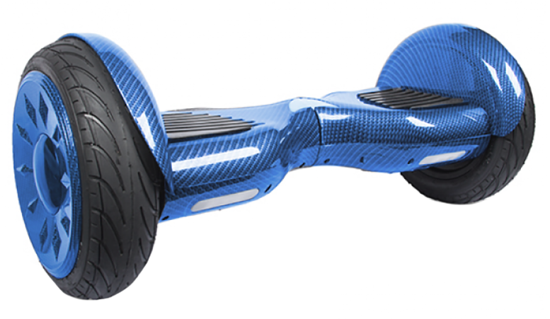 Гироскутер CARCAM SMART BALANCE Graycarbon blue 10.5 фото