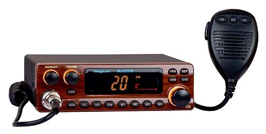 MegaJet MJ-3031M автомобильная радиостанция megajet mj 500