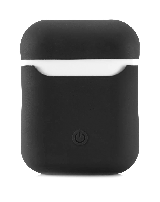 Чехол Airpods Silicon Case - темно-серый