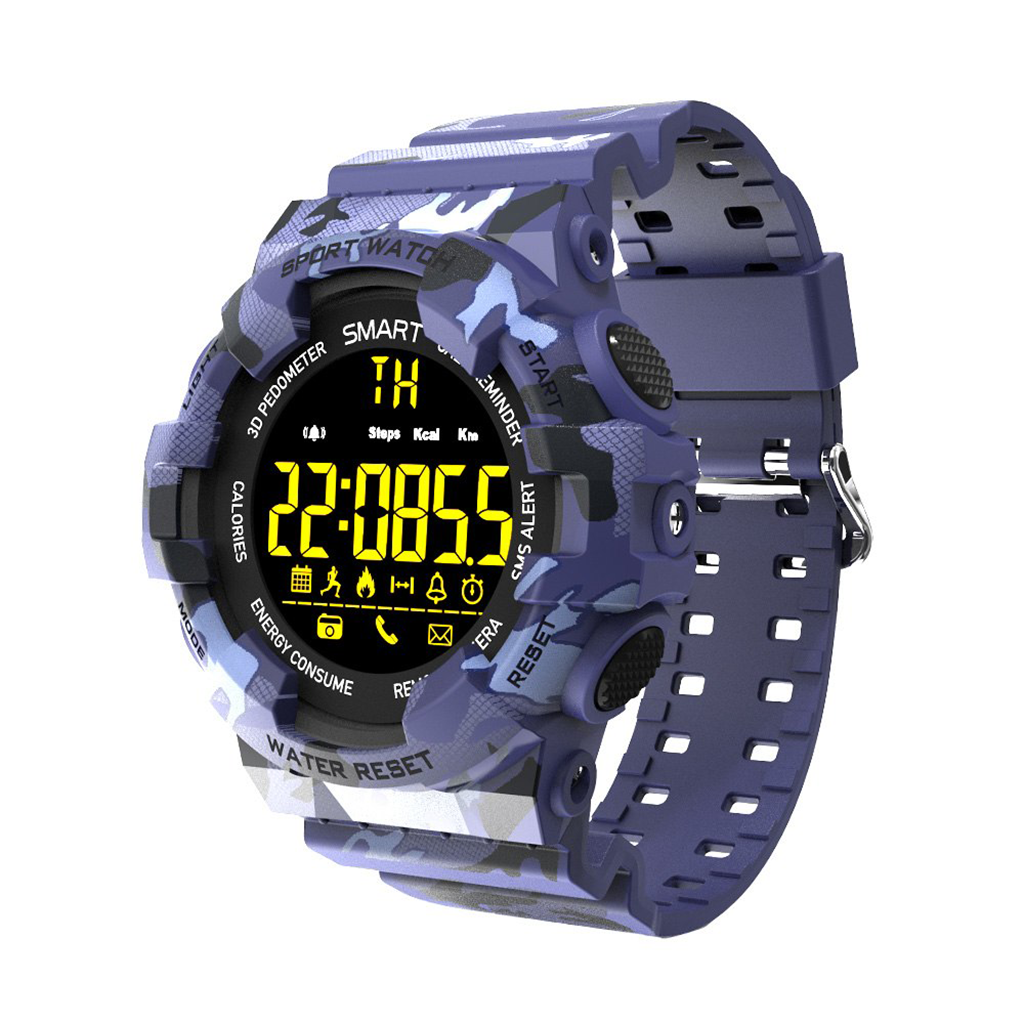 CARCAM SMART WATCH EX16M - BLUE фото