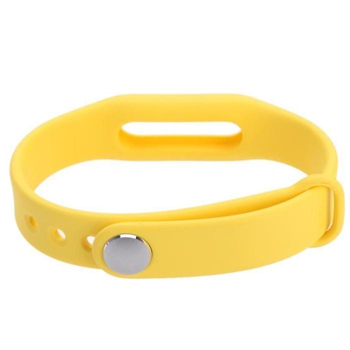 Сменный браслет для Mi Band, Желтый от КАРКАМ