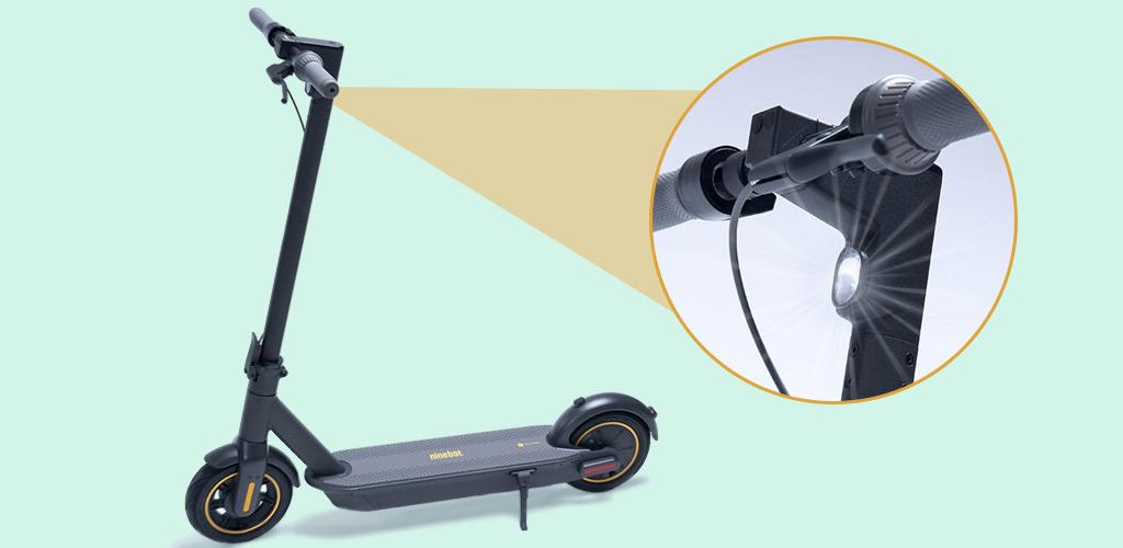 Электросамокат Ninebot KickScooter MAX - Светодиодная подсветка