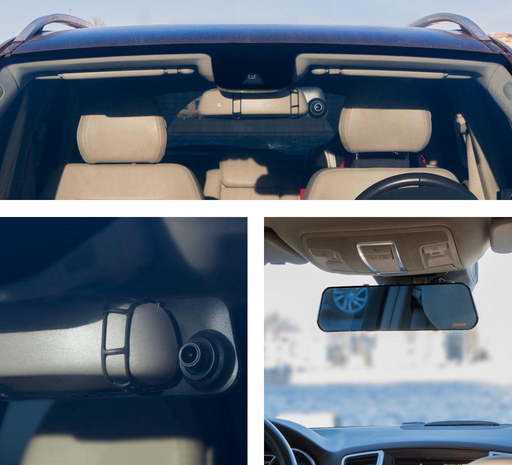 CARCAM Z6 — Размещение в автомобиле