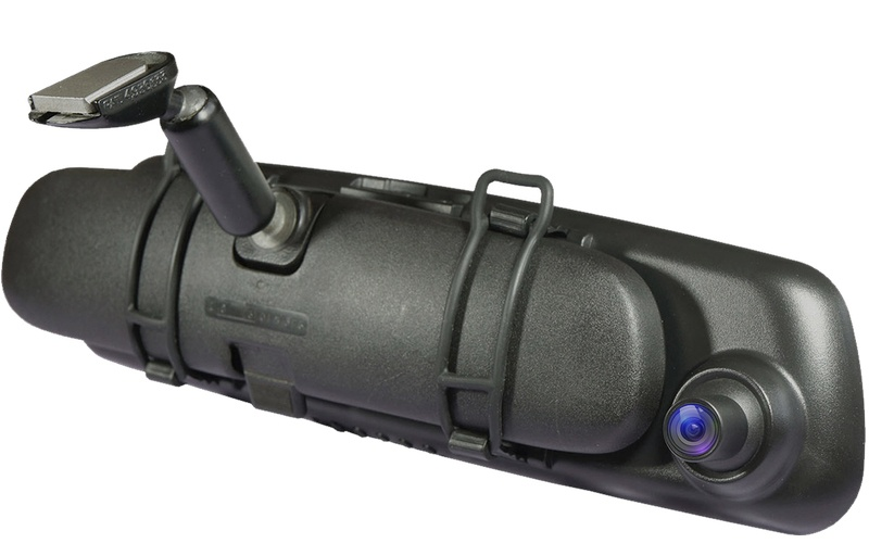 Автомобильный видеорегистратор-зеркало CARCAM Z5 - Удобная установка