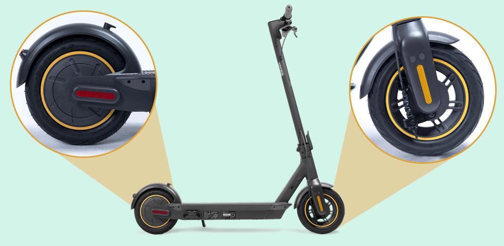 Электросамокат Ninebot KickScooter MAX - Колёса 10