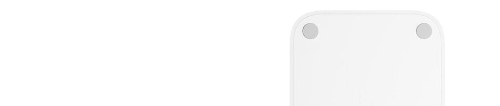 Xiaomi Mi Power Strip 5 Sockets White не скользит и не царапает поверхность