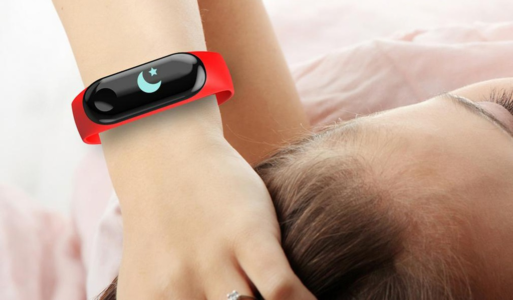 Carcam Smart Band M3 - Мониторинг сна