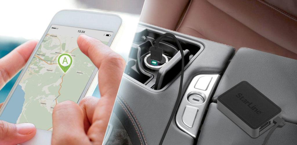 Универсальный GPS-трекер StarLine M18 - питание от прикуривателя