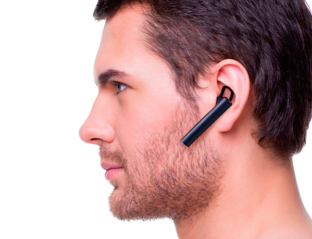 Наушники Xiaomi Mi Bluetooth Headset blue - три силиконовых накладки