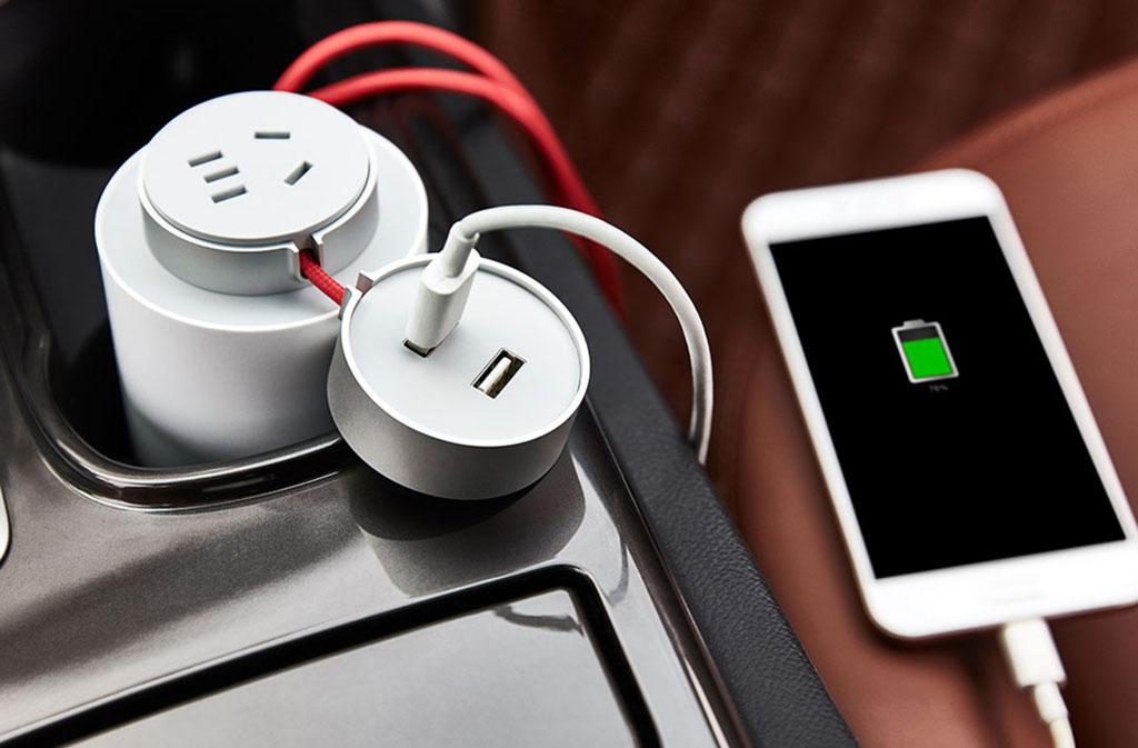 Преобразователь напряжения для автомобиля XIaomi MiJia Mi Car Inverter