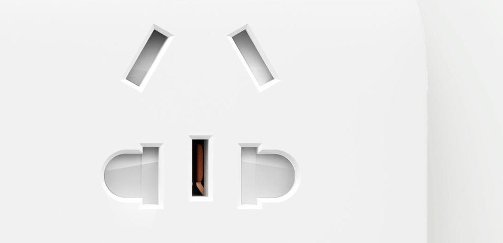 Xiaomi Mi Power Strip 5 Sockets White безопасен для детей