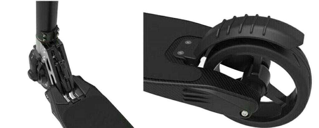 Электросамокат CARCAM JACKHOT - черный - прочный и компактный