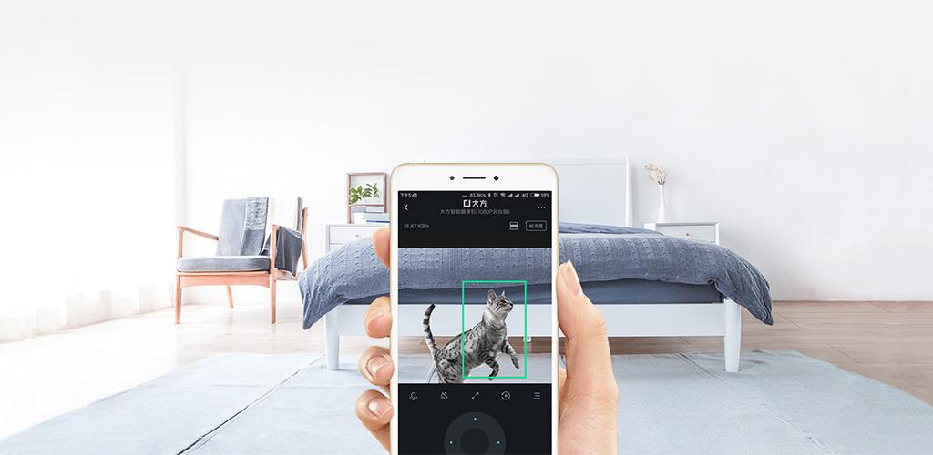 IP-камера Xiaomi Dafang 1080p - ДЕТЕКТОР ДВИЖЕНИЯ