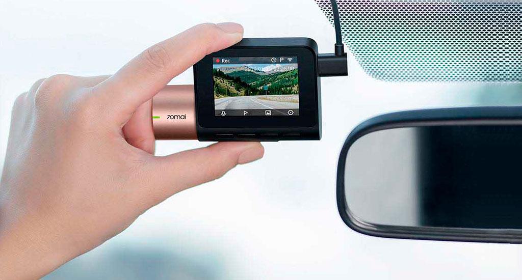 Xiaomi 70mai Dash Cam Pro Lite - КОМПАКТНОСТЬ