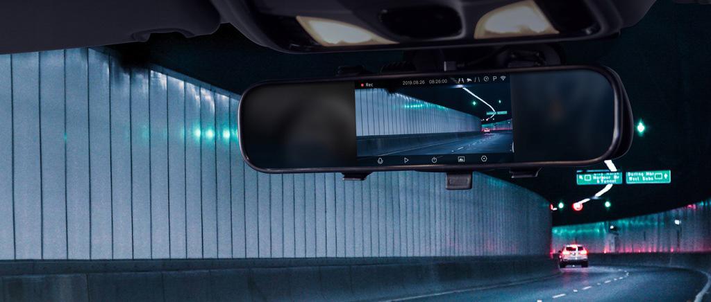 Xiaomi 70mai Dash Cam Mirror (Midrive D04) - БОЛЬШОЙ ДИСПЛЕЙ