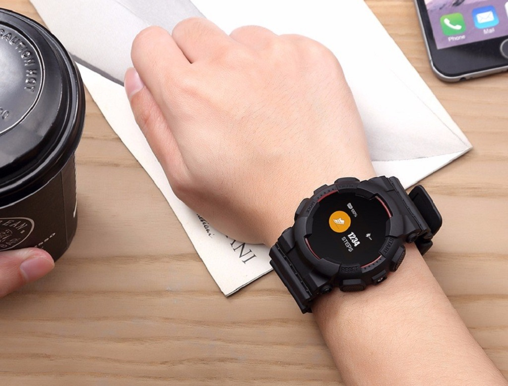 CARCAM Smart Watch V587 Black – шагомер