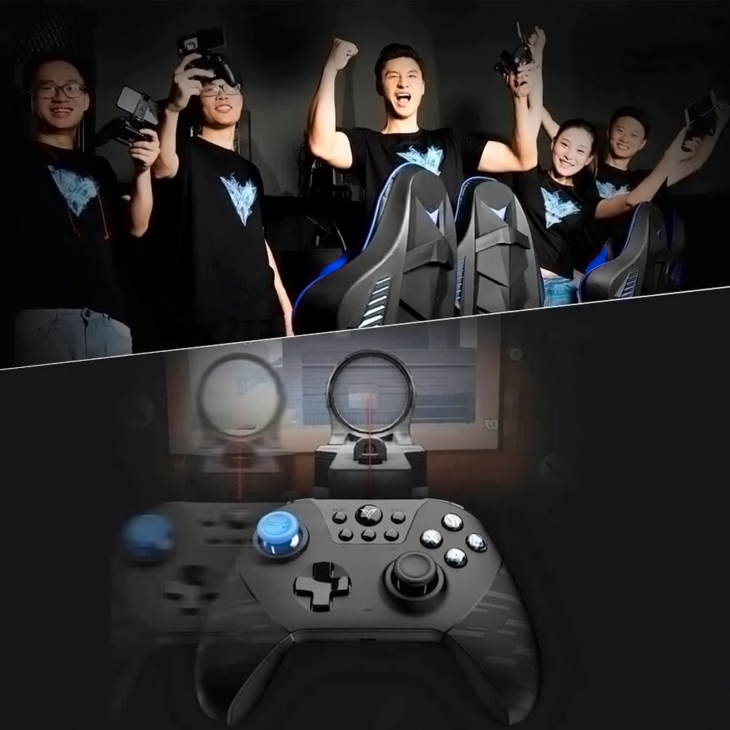 Xiaomi Feat Black Knight X8pro Gamepad игровой джойстик, выполненный в современном эргономичном дизайне