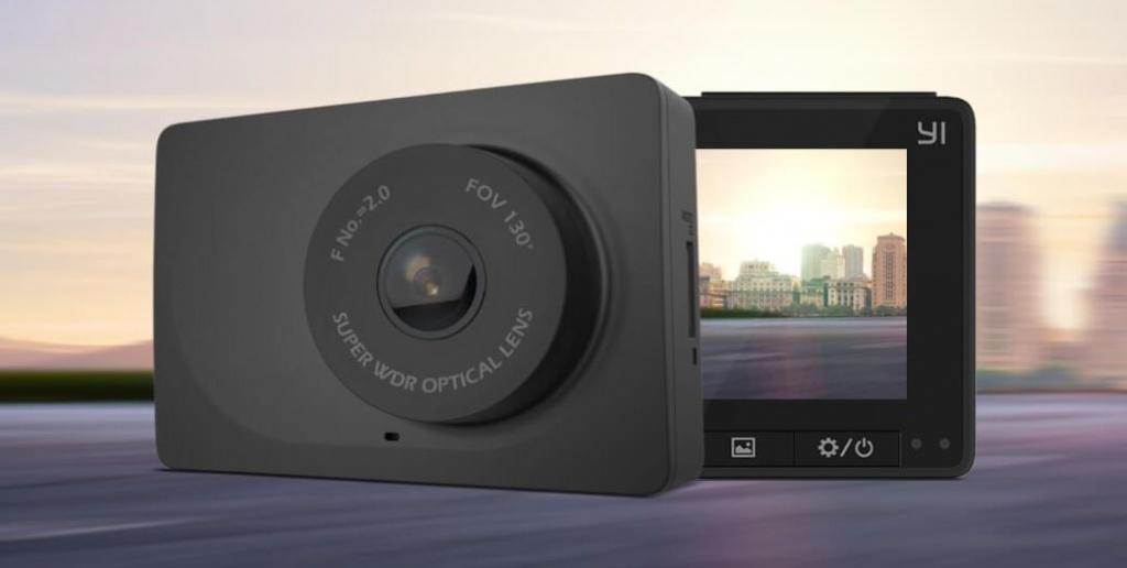 Купить автомобильный видеорегистратор YI Compact Dash Camera