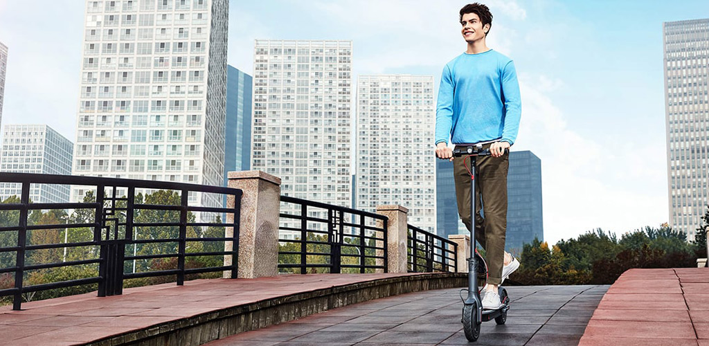 CARCAM Electric Scooter - Круиз-контроль