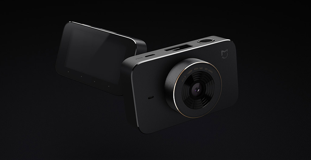 Xiaomi Mijia Car DVR – стильный дизайн