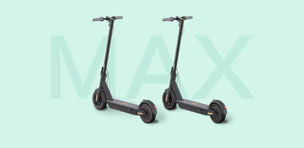 Электросамокат Ninebot KickScooter MAX - флагманская модель электросамоката от компании Segway