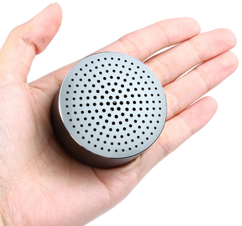 Ультракомпактная колонка Xiaomi Mi Bluetooth Speaker Mini grey - Компактность