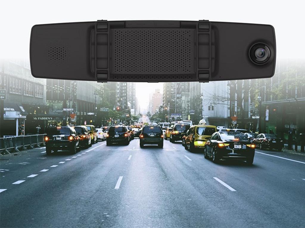 YI Mirror Dash Camera – Micro SD до 64 ГБ