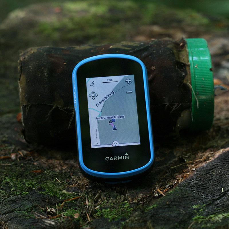 геокешинг и навигатор garmin eTrex touch 25