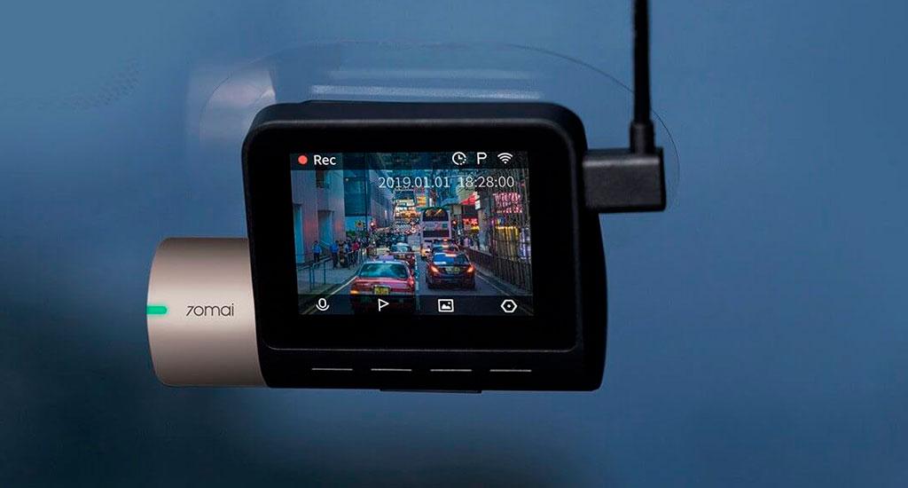 Xiaomi 70mai Dash Cam Pro Lite - ИНДИКАТОР ЗАПИСИ