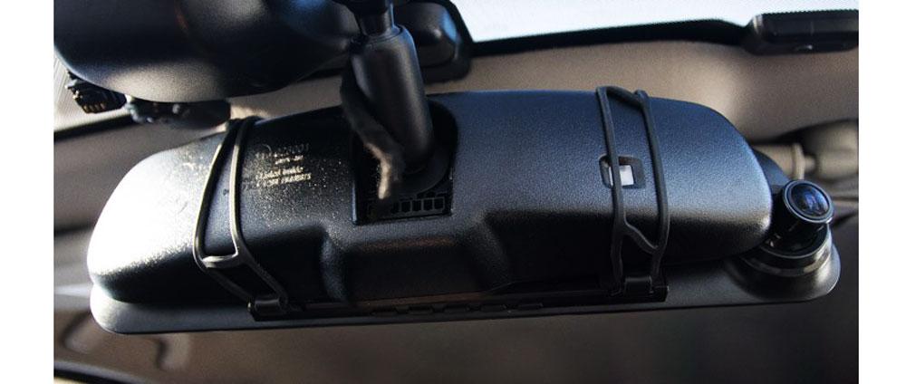 Автомобильный видеорегистратор-зеркало CARCAM Z7 - Быстрая установка