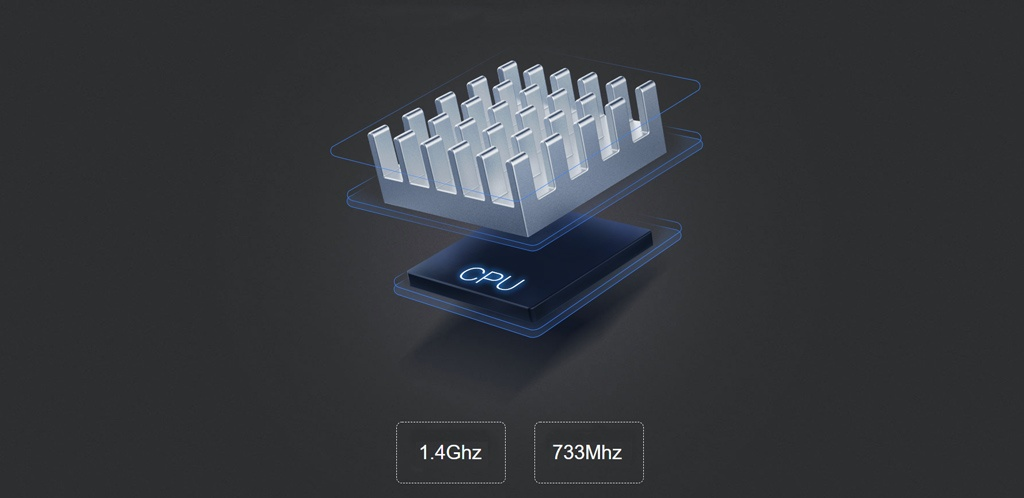 Wi-Fi роутер Xiaomi Mi Wi-Fi Router Pro - Двухъядерный процессор