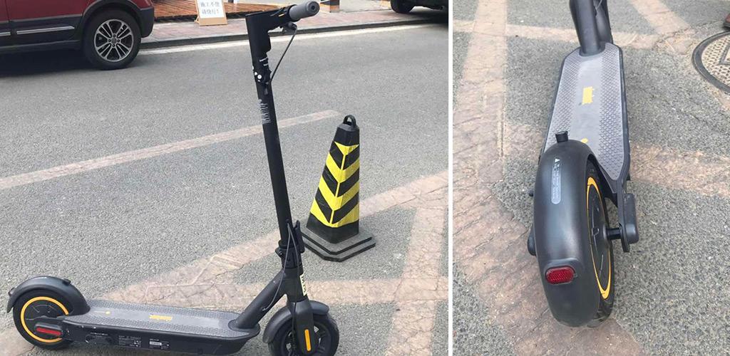 Электросамокат Ninebot KickScooter MAX - Грузоподъемность до 100 кг