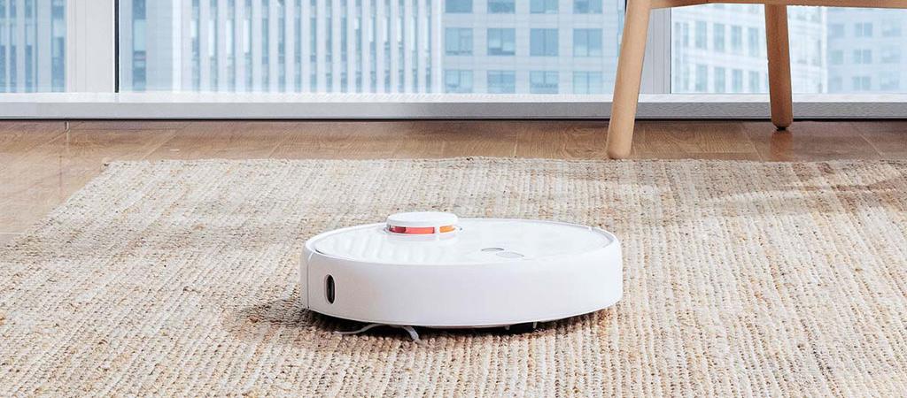 Робот-пылесос Xiaomi Mijia Sweeping Robot Vacuum Cleaner 1S - Эффективная уборка