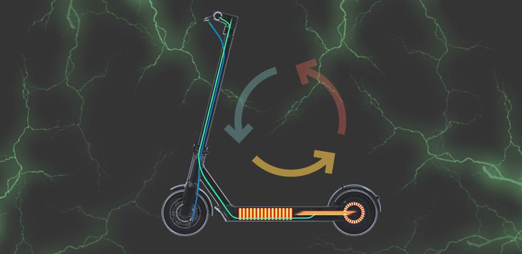 Электросамокат Ninebot KickScooter MAX - Система регенерации энергии
