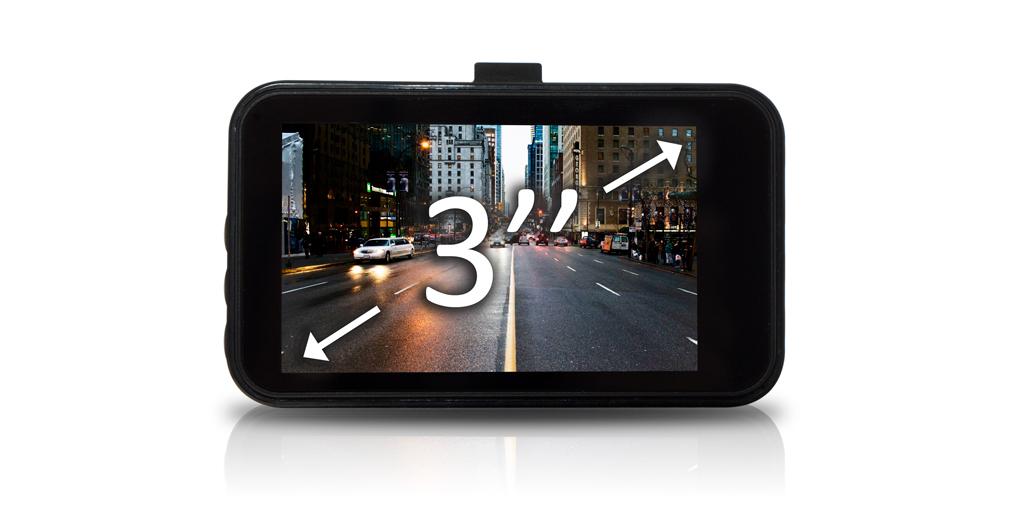 "CARCAM F3 - LCD-Дисплей 3"""