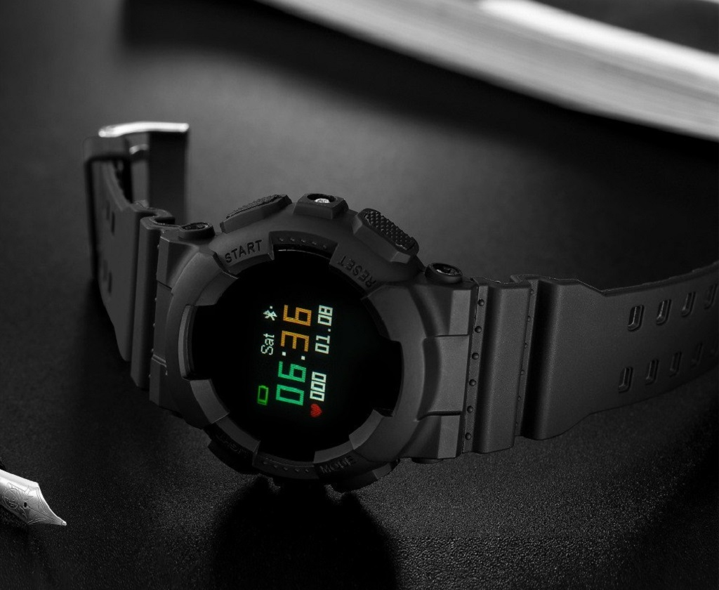 CARCAM Smart Watch V587 Black – мониторинг сна