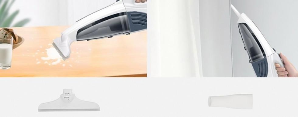 Xiaomi SWDK K580 поставляется с 4 насадками