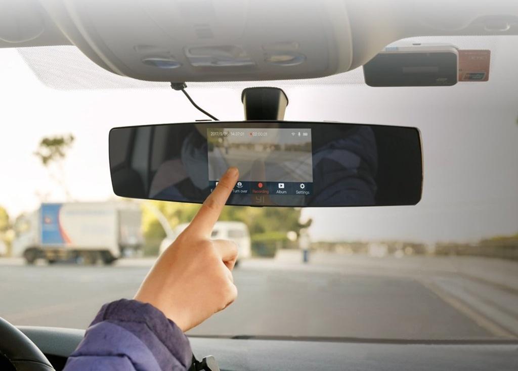 YI Mirror Dash Camera – Удобная установка