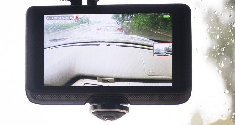 КАРКАМ А-360 первый панорамный автовидеорегистратор с дополнительной камерой заднего вида
