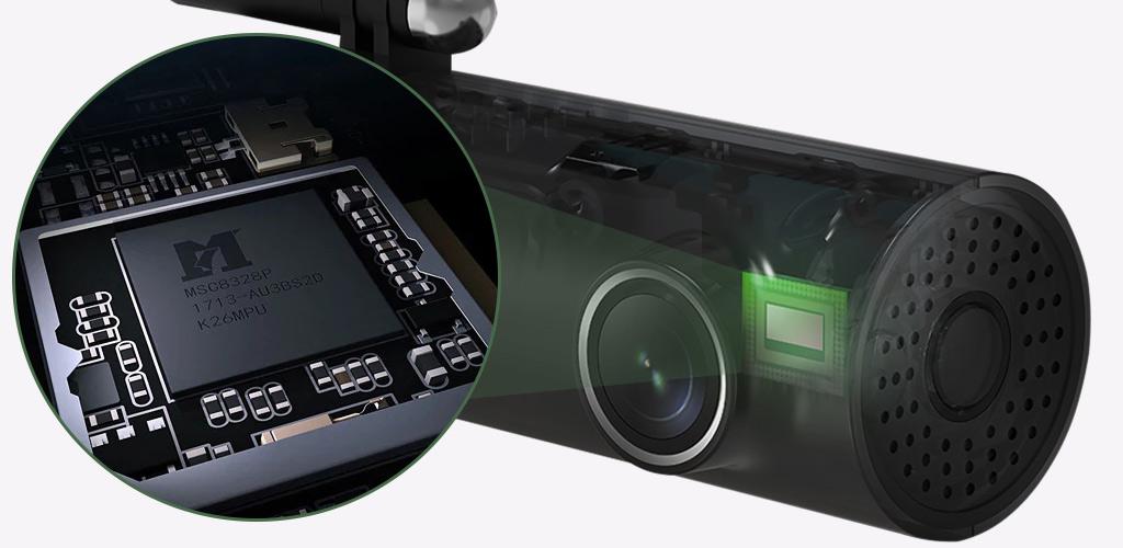 Видеорегистратор Xiaomi 70mai Smart Dash Cam 1S (Midrive D06) - Матрица SONY IMX307
