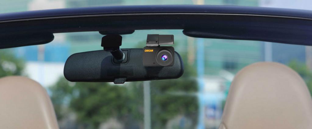 CARCAM Q8 – автомобильный Full HD видеорегистратор, оснащенный быстросъемным магнитным креплением и внешним GPS-модулем.